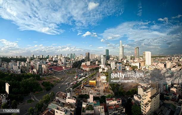 Saigon skyline panorama