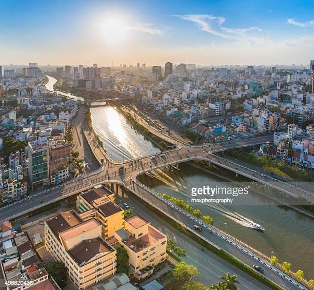 Saigon skyline