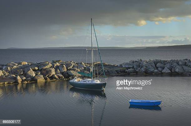 Sailboat Blue Rocks Nova Scotia