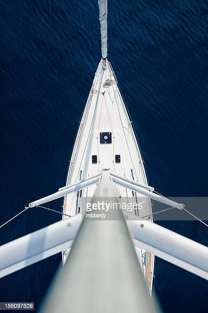 ヨットの上からの眺め