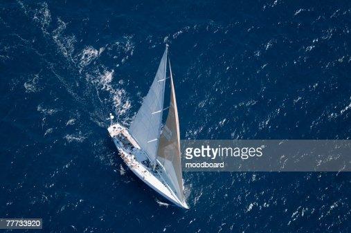 рисунок лодки сверху