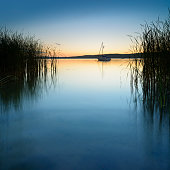 Lake Schwielowsee, Brandenburg, Germany
