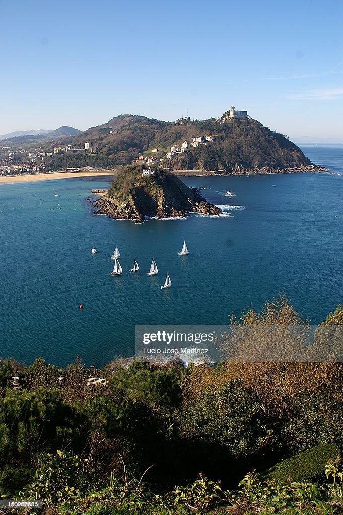 Sailboats in sea : Stock Photo