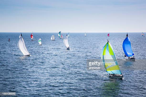 Segelboote Racing