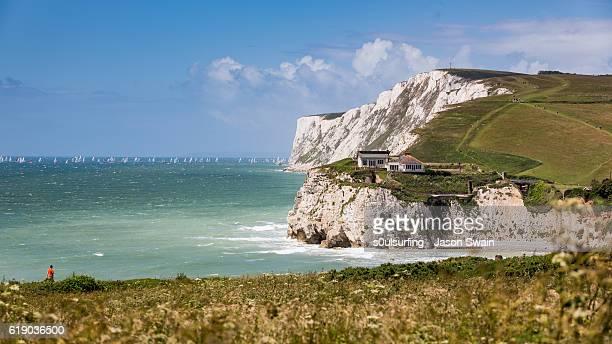 Sailing around the Isle of Wight