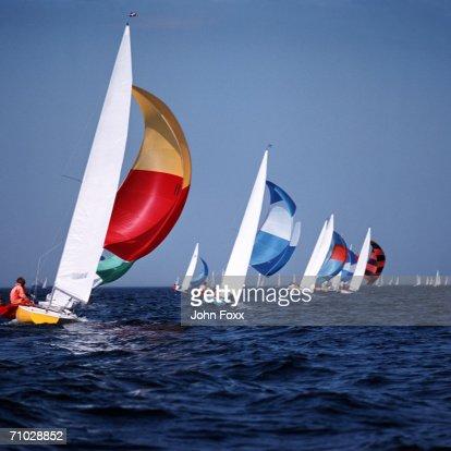 sailing boats : Stock Photo