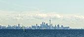 Sailing in lake Ontario