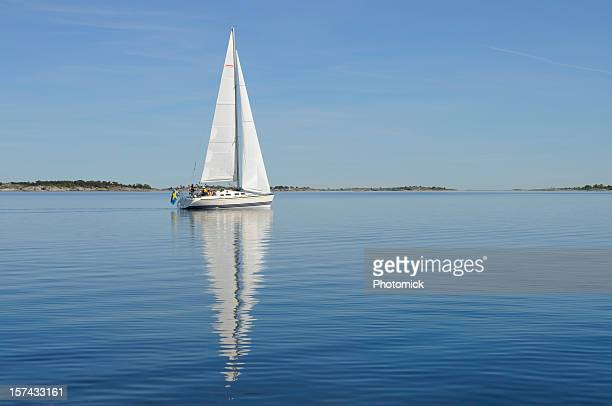 Sailing in the archipelago