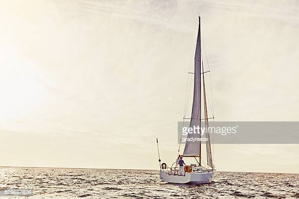 Sailing is exciting and fun