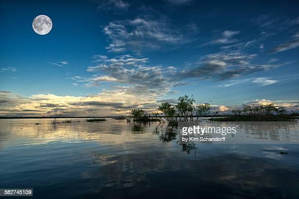 Sailing near Iquitos