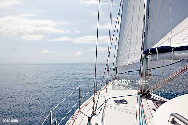 Sailing on calm waters