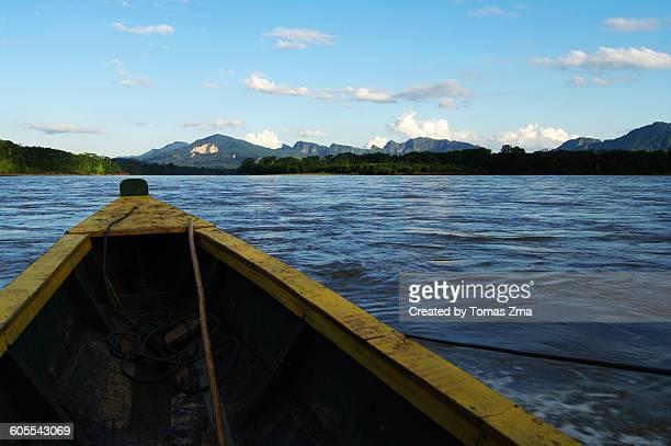 Sailing on Rio Beni