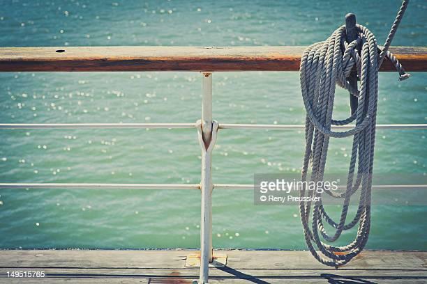 Sailing on ship