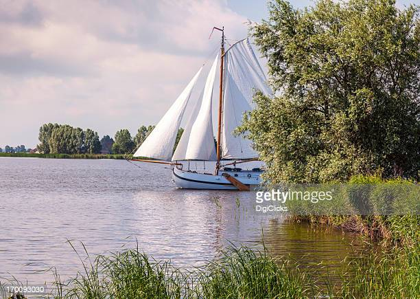 Sailing on the Friesland Lakes
