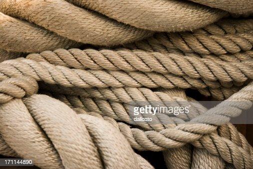 Sailing Rope Background, Full Frame