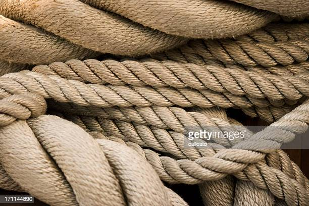 Sailing Rope Background, Full Frame