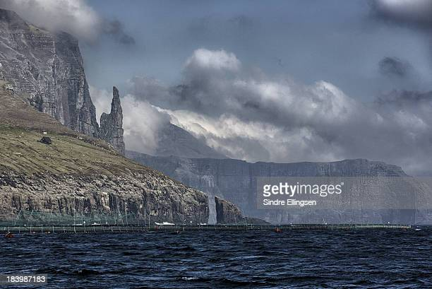 Sailing the west side of Streymoy, Faeroe Islands
