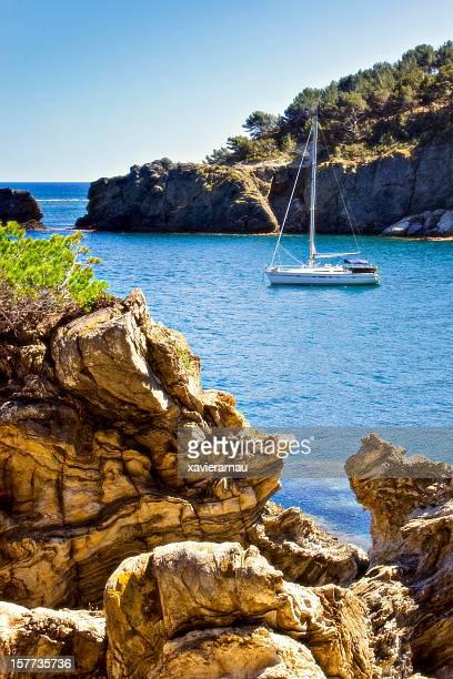 Navegación a las esquinas de la Costa Brava