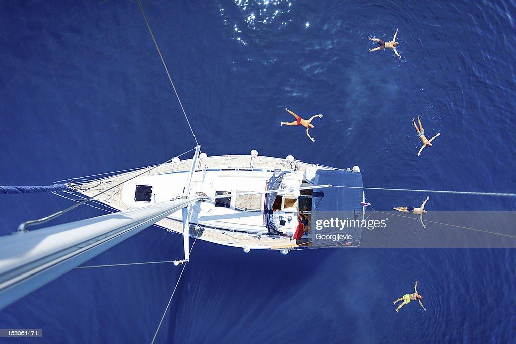 Sailing vacation : Stock Photo