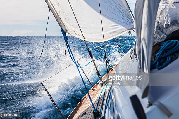 Segeln mit Segelboot