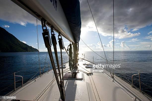 Sailing yacht.