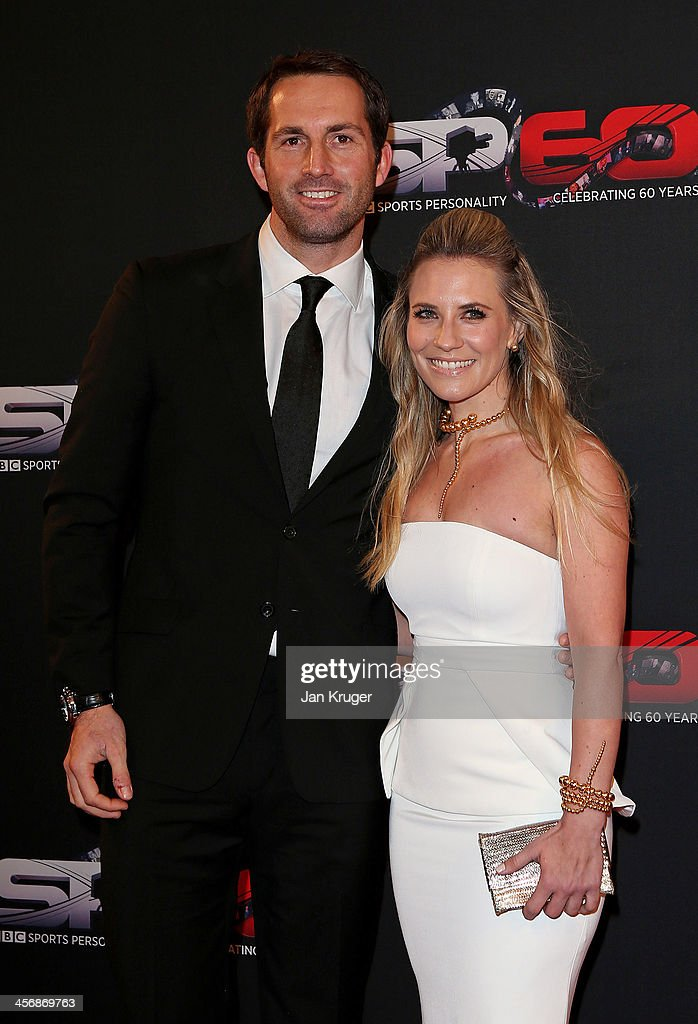 Sailor Ben Ainslie and Georgie Thompson attend the BBC Sports Personality of the Year Awards at First Direct Arena on December 15, 2013 in Leeds, England.