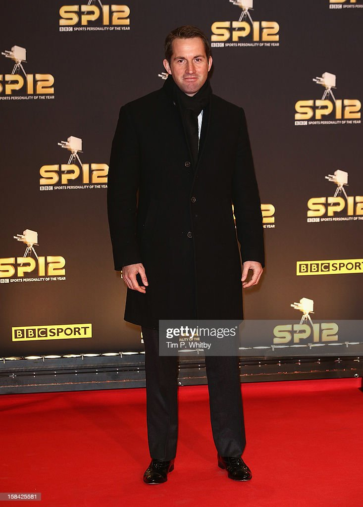 Sailor Ben Ainslie attends the BBC Sports Personality of the Year Awards at ExCeL on December 16, 2012 in London, England.