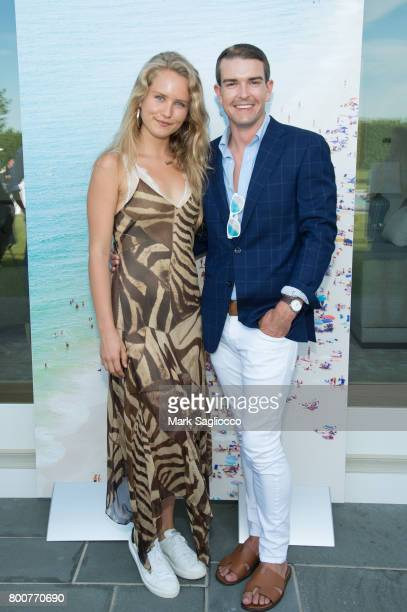 Sailor Brinkley Cook and Gray Malin attend Hamptons Magazine and Matthew Breitenbach Celebration with Artist Gray Malin June 24 2017 in Watermill New...