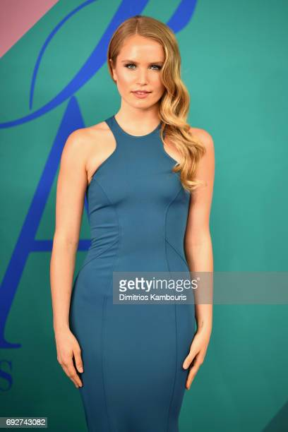 Sailor Brinkley Cook attends the 2017 CFDA Fashion Awards at Hammerstein Ballroom on June 5 2017 in New York City