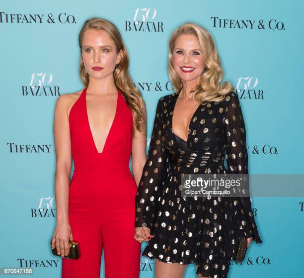 Sailor Lee BrinkleyCook and mother model Christie Brinkley attend Harper's BAZAAR 150th Anniversary Event presented with Tiffany Co at The Rainbow...
