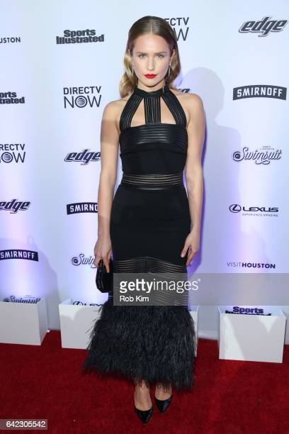 Sailor Lee BrinkleyCook attends Sports Illustrated Swimsuit 2017 Launch Event at Center415 Event Space on February 16 2017 in New York City