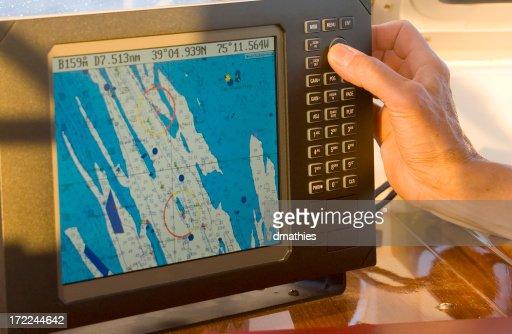 Sailor uses radar