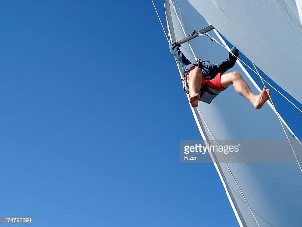 sails under repair