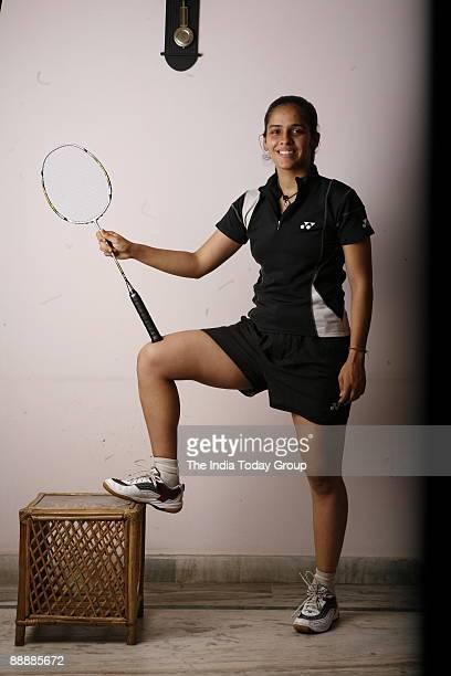 Saina Nehwal Badminton Player of India She was born in Hissar Haryana
