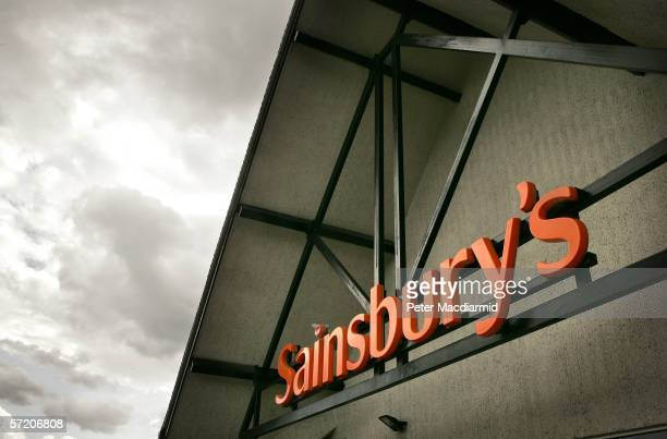 Sainsbury's at Cobham on March 29 2006 in Surrey England Sainsbury's has posted better than expected sales increases for the fifth consecutive quarter