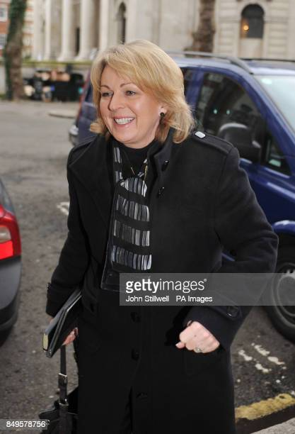 Sainsbury's Director of Brand Judith Batchelar arriving at an emergency meeting with the Food Standards Agency and retailers at Defra headquarters in...