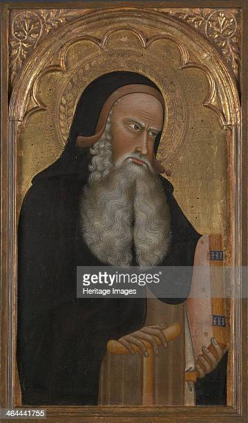 Saint Anthony ca 1350 Found in the collection of the National Gallery London