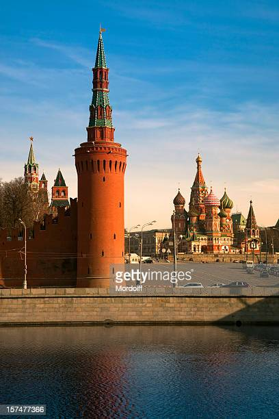Saint Basil's Cathedral and Kremlin tower (XXXL)