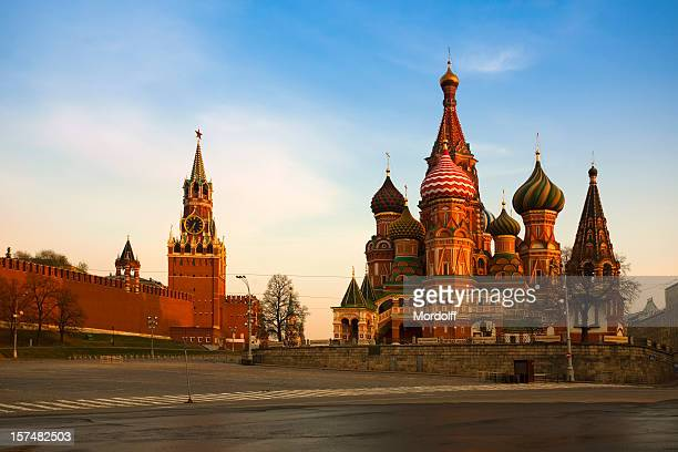 Saint Basil's Cathedral and The Kremlin in Moscow (XXXL)