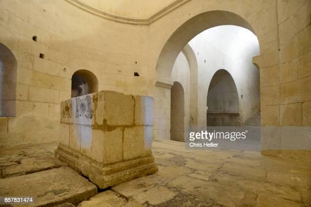 Saint Benedict Crypt and Rotunda (c12th) Montmajour Abbey Arles