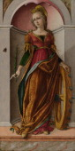 Saint Catherine of Alexandria c 1492 Found in the collection of the National Gallery London