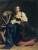 Saint Catherine of Alexandria c 1598 Found in the collection of the ThyssenBornemisza Collections