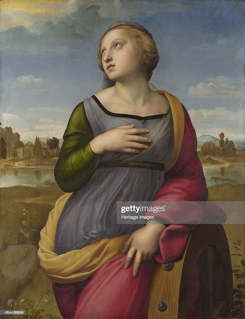 Saint Catherine of Alexandria ca 1507 Found in the collection of the National Gallery London