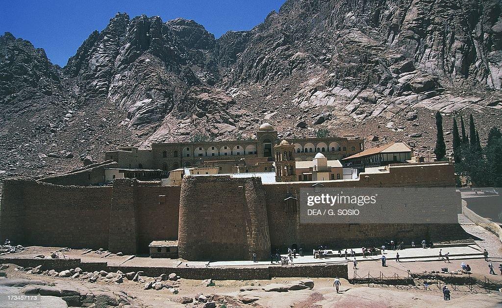 Saint Catherine's Monastery Mount Sinai Egypt