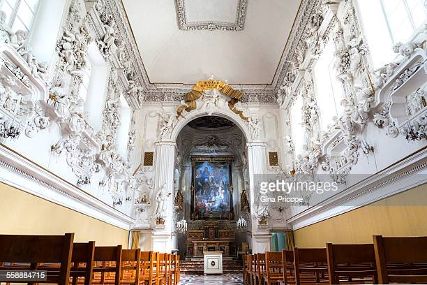 Saint Cita Oratory view in Palermo Sicily