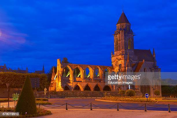 Saint Etienne church Normandy Caen Calvados BasseNormandie France