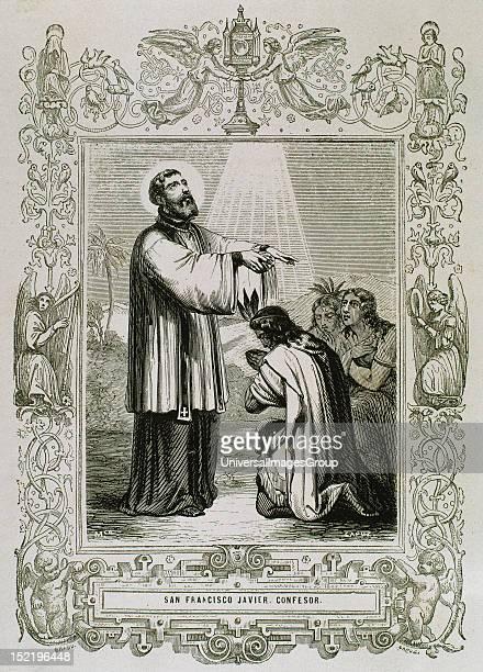 Saint Francis Xavier born Francisco de Jasso y Azpilicueta 15061552 Pioneering Roman Catholic missionary born in the Kingdom of Navarre and cofounder...