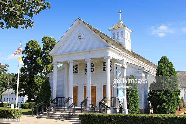 Saint Francis Xavier Church of Hyannis, Cape Cod, Massachusetts, USA.