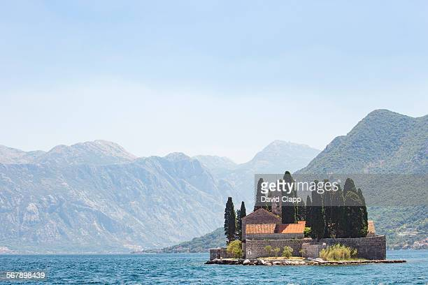 Saint George Benedictine monastery in Montenegro