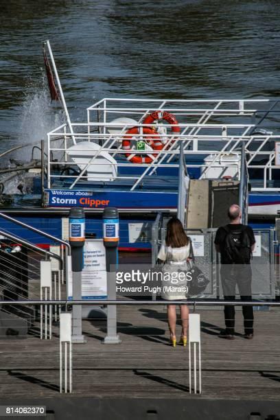 Saint George Wharf Pier:  River Commute